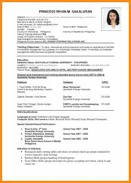 simple job resume format pdf sle resume format for job application resume cover letter