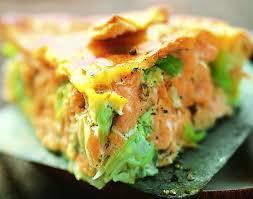 poireaux cuisiner recette tarte au saumon et aux poireaux
