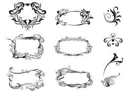 decorative ornament brush pack free photoshop brushes at brusheezy