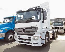 mercedes prime mover mercedes actros logistics trucking transport