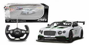sporty all electric bentley car rastar 1 14 bentley continental gt3 electric series rc racing car