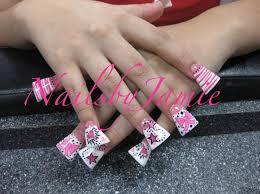 duckfeet nail designs presente butterfly duck feet navy