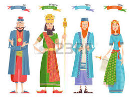 purim puppets finger puppets for festival of purim template vector