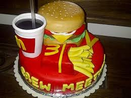 12 cakes that look like fast food specialties mental floss