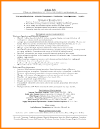 Air Force Resume Example by 8 Warehouse Manager Resume Informal Letter