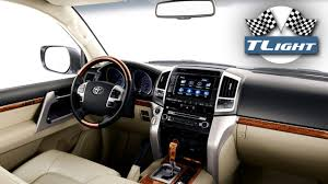 toyota land cruiser interior 2017 new redesigned interior toyota land cruiser 200 2016 2017 youtube