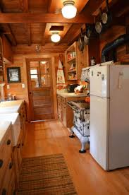 Rustic Cabin Kitchen Cabinets Log Cabin Kitchens Designs Lavish Home Design