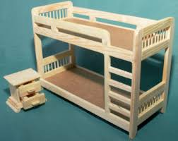 Doll House Bunk Bed Doll Bunk Bed Etsy