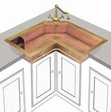 a better corner kitchen sink great idea save space of corners