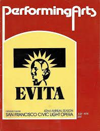 san francisco production theatre programme from the premiere san francisco production of