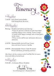 Wedding Itinerary Template For Guests Baby Shower Agenda Best Inspiration From Kennebecjetboat