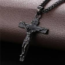 necklace crucifix cross images Cobra jewelry jesus inri crucifix cross necklace pendant and jpg