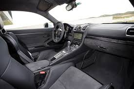 porsche cayenne 2016 interior 2016 porsche cayman gt4 first drive motor trend