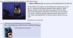 Chocolate Milk Meme - batman chocolate milk chocolate milk threads know your meme