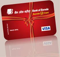 bank gift cards baroda gift card bank of baroda india s international bank
