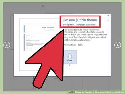 how to get a resume template on word how to create a resume in microsoft word with 3 sle resumes