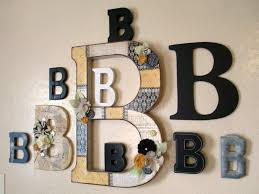 Letter Decoration Ideas by Creative Decorating With Letters Wonderful Decoration Ideas Simple