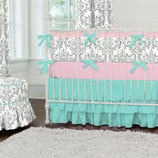 Aqua And Grey Crib Bedding Bedding Aqua And Grey Crib Bedding Gray Baby Yellow Beddinggray