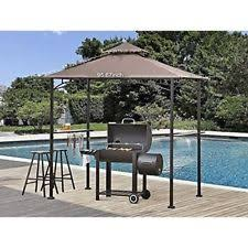 outsunny outdoor patio bbq grill tent canopy gazebo awning shelter