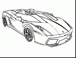 good lamborghini aventador car coloring page with coloring pages