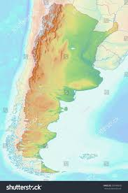 Topographic Map Of The United States by Map Of Usa Topographic Map Worldofmapsnet Online Maps And States