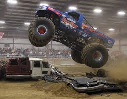 monster trucks topsfield fair