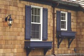 we need a shutter color for our cedar house black for our
