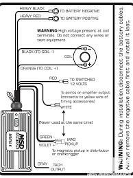 msd 6al wiring diagram hei new mesmerizing mallory distributor