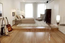 white wall paint color wooden table on the art white flooring