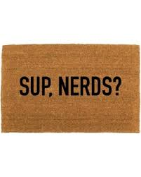 funny welcome find the best savings on the sup nerds doormat funny doormat home