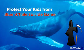 protect your kids from blue whale game 100tech lastest