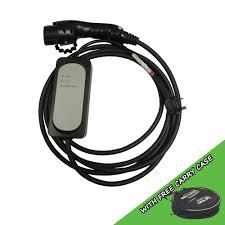 nissan leaf charging cable ev onestop ev charging cables u0026 charging stations