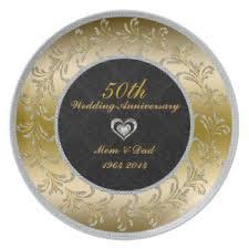 50th wedding anniversary plates 50th wedding anniversary plates zazzle au