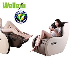 Recliner Chair With Speakers 2 In 1 Shiatsu Roller Pu Leather Full Body Massage Recliner Chair
