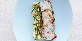 recette cuisine legere recette légère poulet aux épices et salade d endives aux pommes