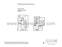 Rv 2 Bedroom Floor Plans Penthouse 2 Bed Stellar Rv