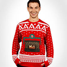 sweater with sweater uses your smart phone to display an
