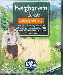 K Hen Deutschland Bergbauern Käse Würzig Nussig U2014 Bergader U2014 160 G