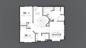 mascord house plan 2229 the pennington