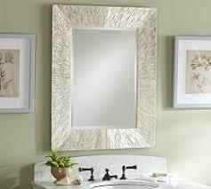 Mirrors For Bathroom Vanity Bathroom Vanity Mirrors Pottery Barn