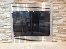 glass fireplace doors long island ny beach stove