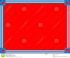 Red White Flag With Blue Star Vector Red White Blue Star Striped Background Stock Vector