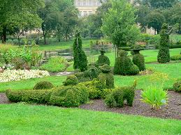 Topiary Dog Topiary Gardens The Art Of Trees The Blade