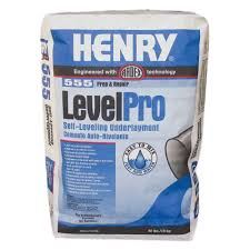henry 555 level pro 40 lb self leveling underlayment 12165 the