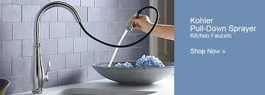 Install Kohler Kitchen Faucet Kohler Pull Out Kitchen Faucet Faucets Install Head For Forte Part