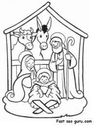 printable coloring pages nativity scenes christmas coloring pages jesus ebcs 2b3a452d70e3