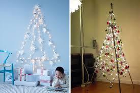 Outdoor Christmas Tree Made Of Lights by Christmas Tree Lights On Wall U2013 Happy Holidays