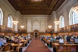 nothing will fall on you now in the nypl reading room