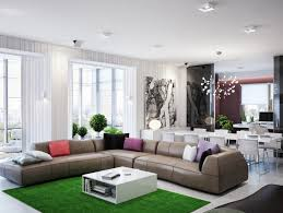 living room shaped living rooms room dining decorating apartment