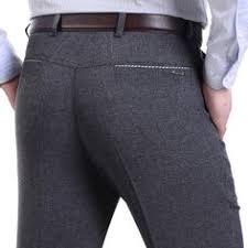cheap new 2017 business and casual slim fit suit pants men mens